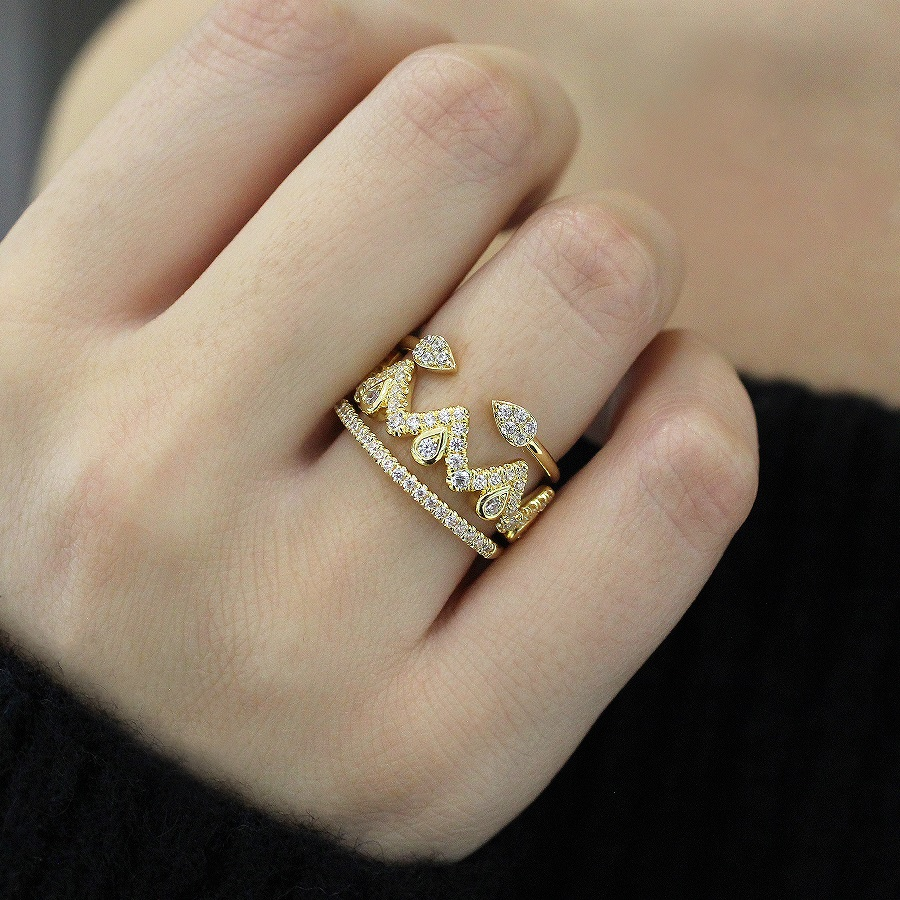 HOW TO: Stack Gabriel & Co. Rings