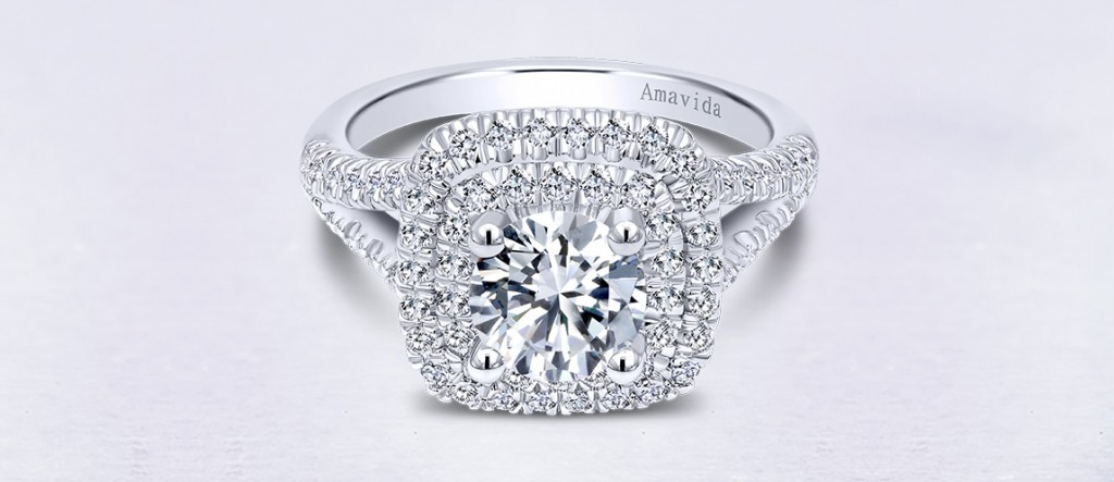 Wide Band Engagement Rings Make a Statement