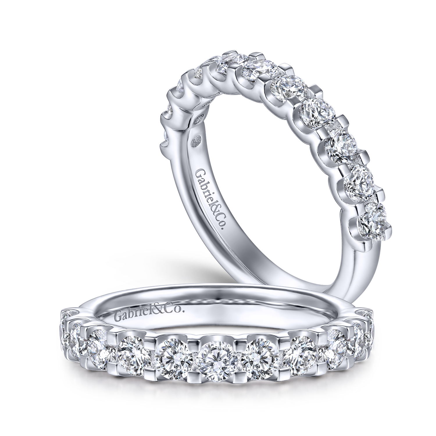 Eternity Bands: One Ring, Many Diamonds