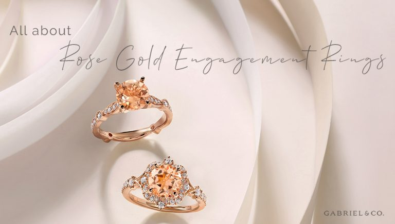 All About Rose Gold Engagement Rings