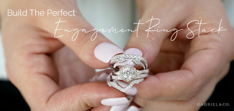 Build the Perfect Engagement Ring Stack