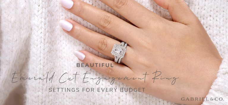 Beautiful Emerald Cut Engagement Ring Settings for Every Budget