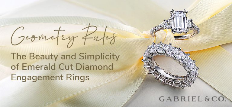 Geometry Rules: The Beauty and Simplicity of Emerald Cut Diamond Engagement Rings
