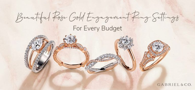 Beautiful Rose Gold Engagement Ring Settings for Every Budget